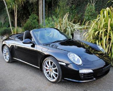 Porsche Carrera S Convertible Hire